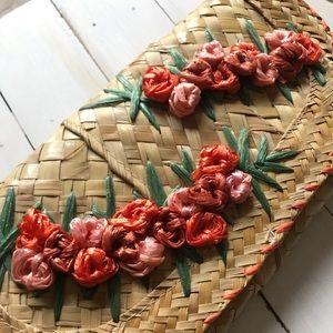 Handbags - Vintage Woven Clutch